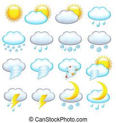 időjárás, ikonok