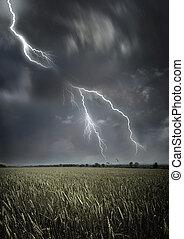 időjárás, viharos