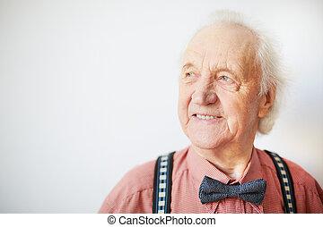 idős, ember