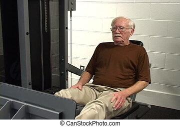 idősebb ember, állóképesség
