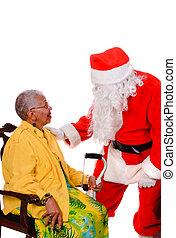 idősebb ember, szent, polgár