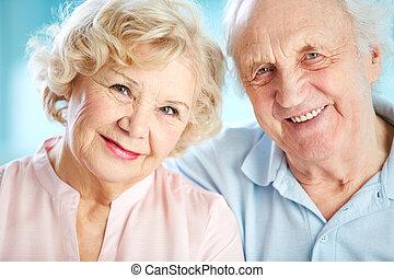 idősek, bájos