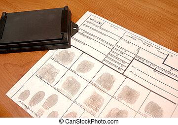 ID card - Id card on table
