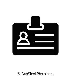 id  glyph flat icon