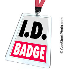 ID Identification Badge Name Tag Access Credentials - ID...