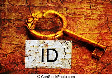 Id tag and old key