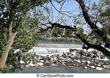 Idaho Falls in Idaho