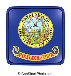 Idaho flag icon - 3d rendering of an Idaho State flag icon....