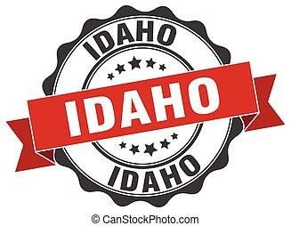 Idaho round ribbon seal