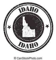 Idaho sign or stamp