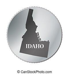 Idaho State Coin