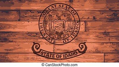 Idaho State Flag Brand