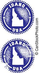 Idaho USA Stamps