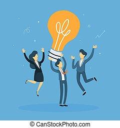 idea., ビジネス 人々