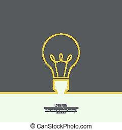 idea., 電球, ライト