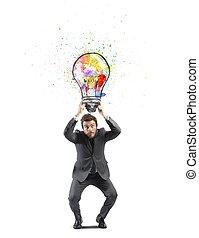 idea, affari, creativo