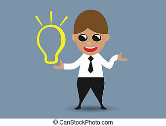 idea, affari, ottenere