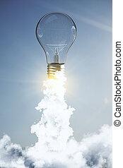 Idea and innovation backdrop