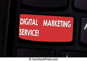 idea., begriff, service., tastenfeld, text, schaffen, digital, erzielen, drücken, kanäle, intention, bedeutung, computer- schlüssel, tastatur, dienstleistungen, gebrauchend, nachricht, marketing, handschrift, verbraucher