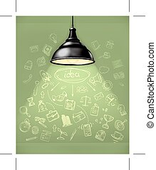 Idea, business infographics