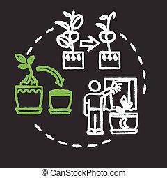 idea., caring., icon., houseplants, rgb, tip., bloemen, ...