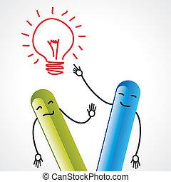 idea communication, business talk