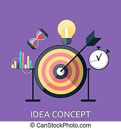 Idea Concept Background
