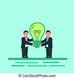Idea. Concept business illustration.