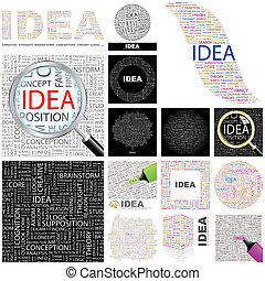 Idea. Concept illustration.