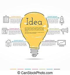 Idea Concept Infographics