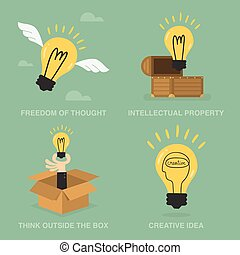 Idea Concept Of Freedom Of Though