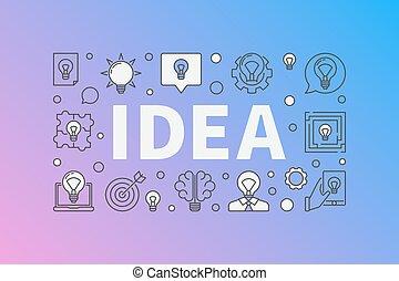 Idea creative design