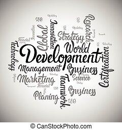Idea Creative Development Business Brainstorming Infographic