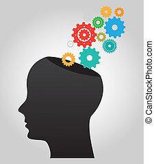 idea design - idea graphic design , vector illustration