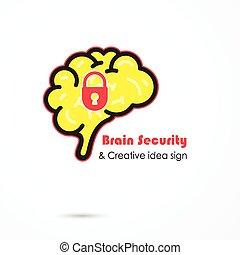idea, diseño, concepto, seguridad, empresa / negocio,...