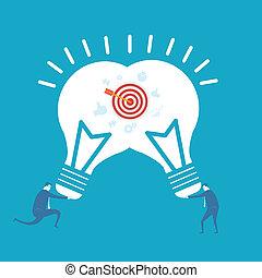 idea, empresa / negocio
