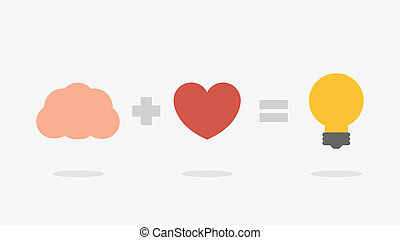 Idea - Great idea vector illustration