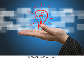 Idea Innovation Concept