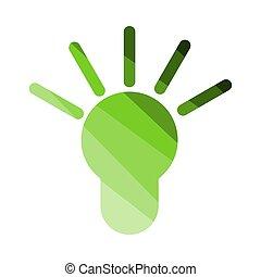 Idea Lamp Icon