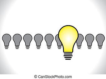 Idea leadership illustration