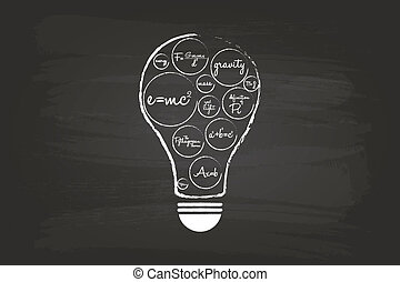 Idea Light Bulb Concept