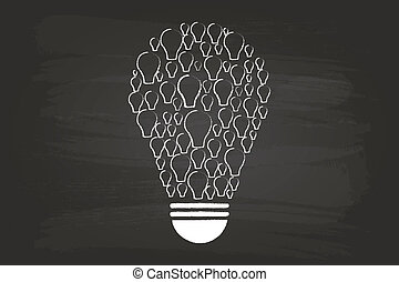 Idea Light Bulb Concept