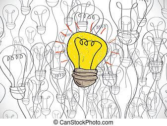 idea Light bulb icon