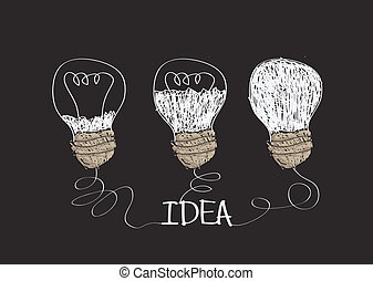 idea Light bulb icon