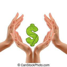 idea of ??money on hand.