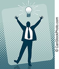 Idea of the businessman