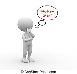 idea!, possedere