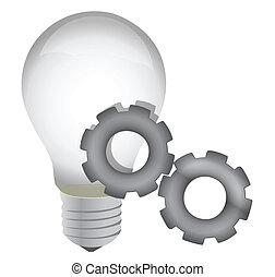 idea, postęp, pojęcie, lightbulb