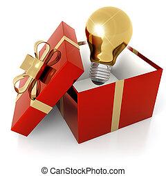 idea, regalo