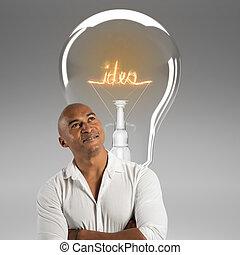 idea., rendre, avoir, 3d